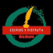 """logo podcast """"Escribe y disfruta"""""""